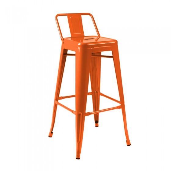 Cadeira Alta Iron Tolix Encosto Baixo