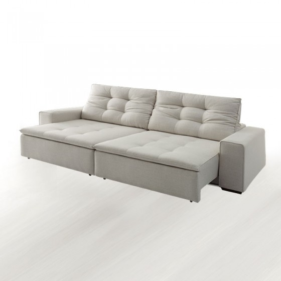Sofa Fasano Retratil Reclinavel 250 cm