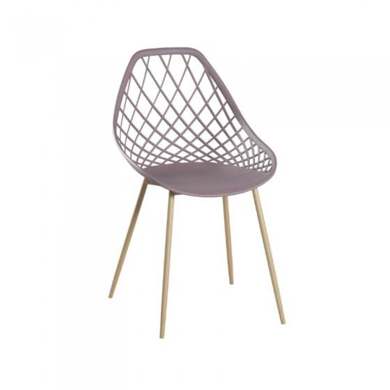 Cadeira tramada Klau sem braços