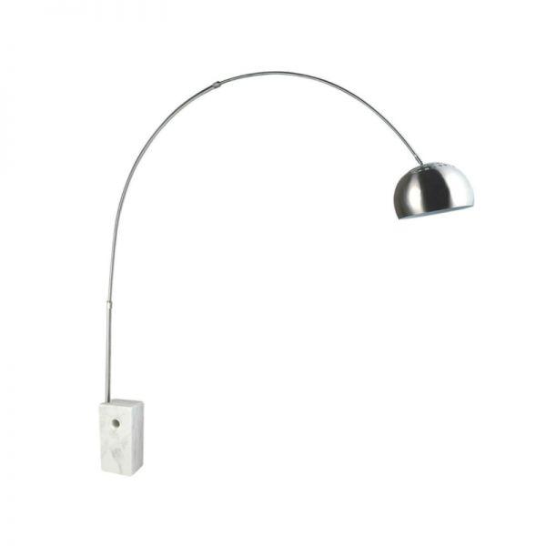 Luminaria de chão base redonda Arco Lamp