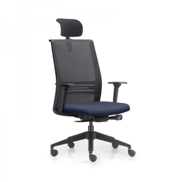 Cadeira Agile office Presidente Sintético