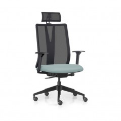 Cadeira Addit office Presidente Crepe