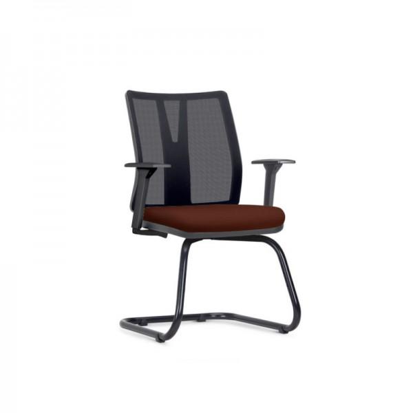 Cadeira Addit office Fixa Sintético