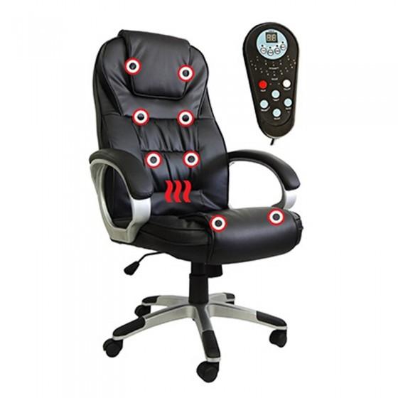 Cadeira Presidente com massageador
