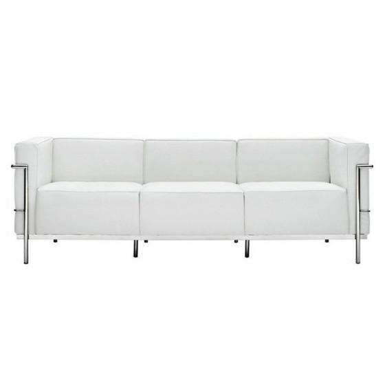 Sofa Le Corbusier Feminino / Sofa Grand Confort 3 Lugares